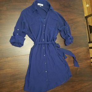 Express portifino shirt dress